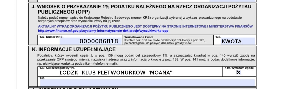 1% dla OPP LOK ŁKP
